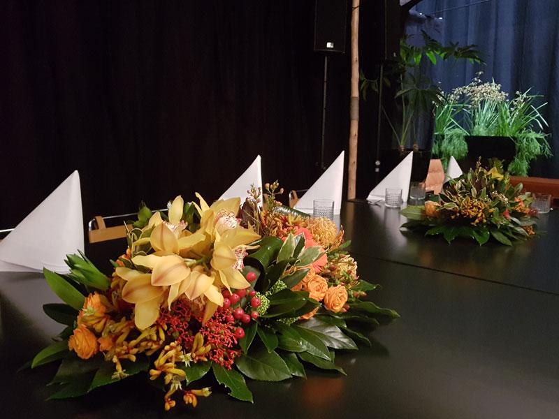 Bloemen en planten op uw evenement